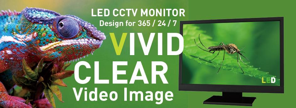 LED CCTV Monitor